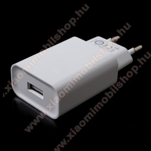 Xiaomi MI-2aXIAOMI OEM hálózati töltő - 1 x USB aljzat, Quick Charge 3.0 gyors töltés támogatás, 5V/3A; 9V/2A, 12V/1.5A - FEHÉR - MDY-08-DF - GYÁRI