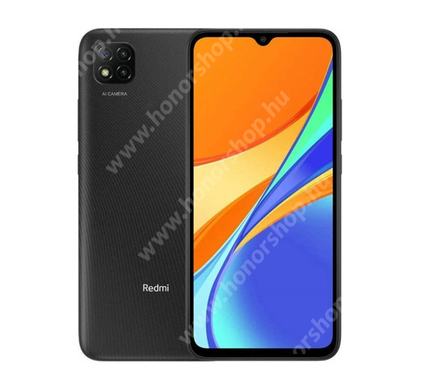 Xiaomi Redmi 9C NFC, Dual SIM, 3/64GB, Midnight Grey