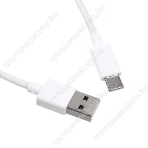 SAMSUNG SM-T835 Galaxy Tab S4 10.5 (LTE)Xiaomi Type-C  adatátvieli kábel / töltő kábel - 1m - FEHÉR - GYÁRI