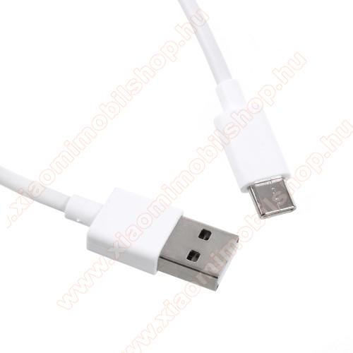 Xiaomi Mi A2Xiaomi Type-C  adatátvieli kábel / töltő kábel - 1m - FEHÉR - GYÁRI