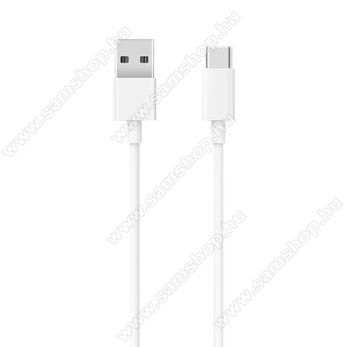 SAMSUNG Galaxy Tab S6 10.5 LTE (SM-T865)Xiaomi Type-C  adatátvieli kábel / töltő kábel - SJV4125CN - 1m - FEHÉR - GYÁRI