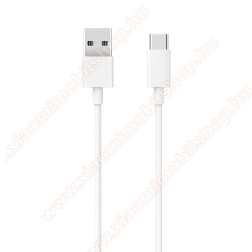 Xiaomi Mi Note 10 LiteXiaomi Type-C  adatátvieli kábel / töltő kábel - SJV4125CN - 1m - FEHÉR - GYÁRI