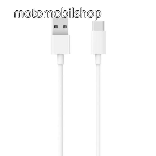 MOTOROLA Moto Z Xiaomi Type-C  adatátvieli kábel / töltő kábel - SJV4125CN - 1m - FEHÉR - GYÁRI
