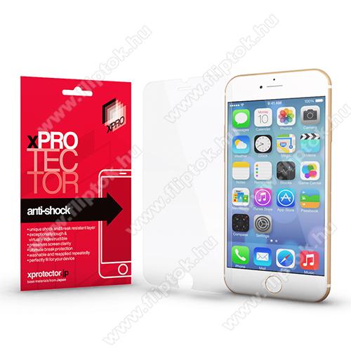 Xpro Anti Shock Flexible rugalmas előlap védő karcálló edzett üveg - 9H, Arc Edge, A képernyő sík részét védi - APPLE iPhone SE (2020) / APPLE iPhone 7 / APPLE iPhone 8 / APPLE iPhone 6 / APPLE iPhone 6S - GYÁRI