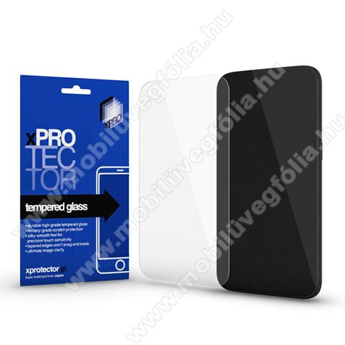 Xpro előlap védő karcálló edzett üveg - 0,33 mm vékony, 9H, Arc Edge, A képernyő sík részét védi - SAMSUNG SM-A202F Galaxy A20e