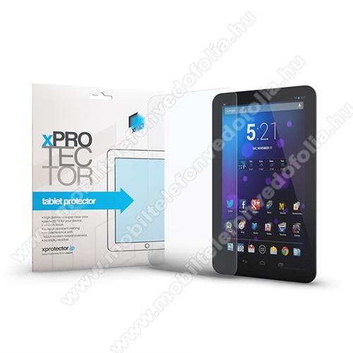 Xpro előlap védő karcálló edzett üveg - 0,3 mm vékony, 9H, Arc Edge, A képernyő sík részét védi - HUAWEI MediaPad T5