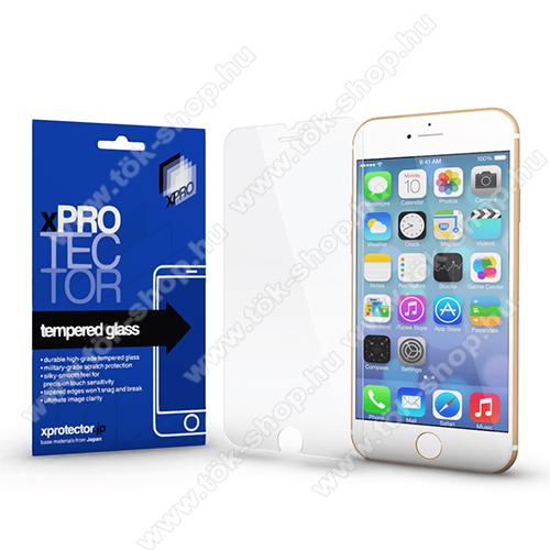 Xpro előlap védő karcálló edzett üveg - 0,33 mm vékony, 9H, Arc Edge, A képernyő sík részét védi - APPLE iPhone SE (2020) / APPLE iPhone 7 / APPLE iPhone 8 / APPLE iPhone 6 / APPLE iPhone 6S - GYÁRI