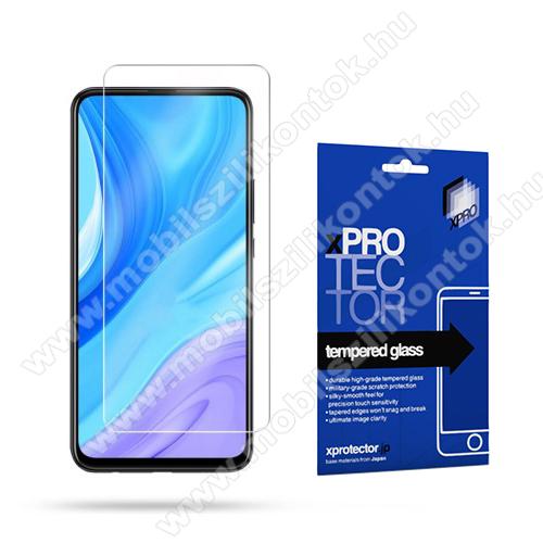 Xpro előlap védő karcálló edzett üveg - 0,33 mm vékony, 9H, Arc Edge, A képernyő sík részét védi - HUAWEI P smart Pro (2019) / HUAWEI P Smart Z / HUAWEI Y9s / Honor 9X (Global) / Honor 9X (China) / Honor 9X Pro (China) - GYÁRI