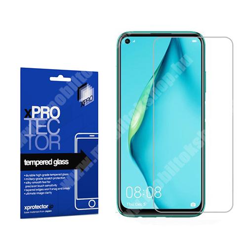 Xpro előlap védő karcálló edzett üveg - 0,33 mm vékony, 9H, Arc Edge, A képernyő sík részét védi - HUAWEI P40 Lite / Huawei Nova 7i / Huawei nova 6 SE - GYÁRI