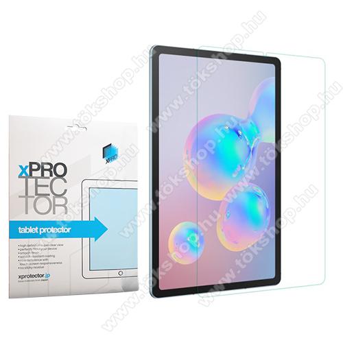 Xpro előlap védő karcálló edzett üveg - 0,6 mm vékony, 9H, Arc Edge, A képernyő sík részét védi - SAMSUNG SM-P610 Galaxy Tab S6 Lite (Wi-Fi) / SAMSUNG SM-P615 Galaxy Tab S6 Lite (LTE) - GYÁRI