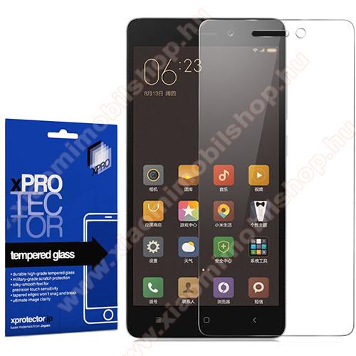 Xiaomi Redmi 3 ProXpro előlap védő karcálló edzett üveg - 0,33 mm vékony, 9H, Arc Edge, A képernyő sík részét védi - XIAOMI Redmi 3 / Redmi 3 Pro / Xiaomi Redmi 3s / Redmi 3s Prime / Redmi 3x - GYÁRI
