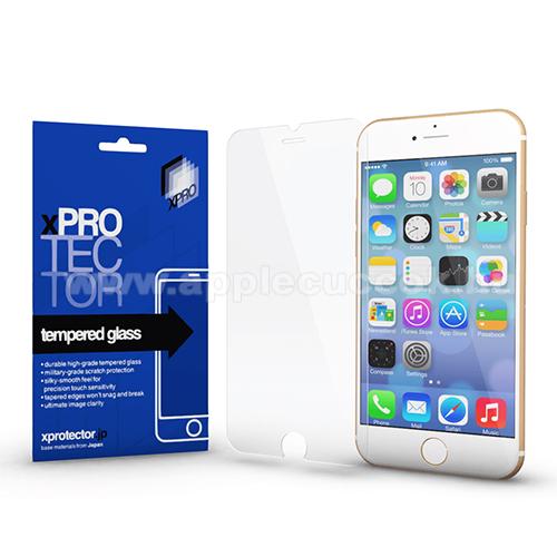 Xpro előlap védő karcálló edzett üveg - 0,33 mm vékony, 9H, Arc Edge, A képernyő sík részét védi - APPLE iPhone 7 Plus / APPLE iPhone 8 Plus - GYÁRI