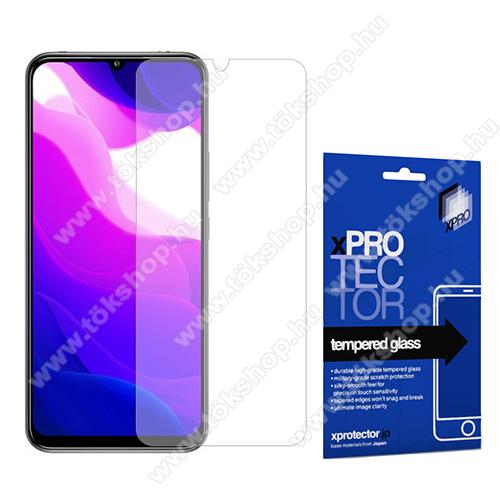 Xpro előlap védő karcálló edzett üveg - 0,33 mm vékony, 9H, Arc Edge, A képernyő sík részét védi - Xiaomi Mi 10 Lite 5G / Xiaomi Mi 10 Youth 5G / Xiaomi Mi 10 Lite Zoom - GYÁRI