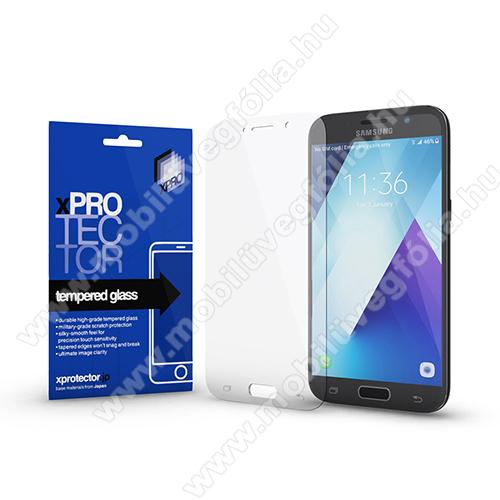 Xpro előlap védő karcálló edzett üveg - 0,33 mm vékony, 9H, Arc Edge, A képernyő sík részét védi - SAMSUNG SM-A520F Galaxy A5 (2017) - GYÁRI