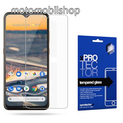 Xpro előlap védő karcálló edzett üveg - 0,33 mm vékony, 9H, Arc Edge, A képernyő sík részét védi - NOKIA 5.3 - GYÁRI