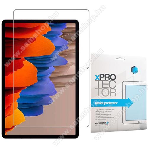 Xpro előlap védő karcálló edzett üveg - 0,33 mm vékony, 9H, Arc Edge, A képernyő sík részét védi - SAMSUNG Galaxy Tab S7 Plus (SM-T970/T976B) - GYÁRI