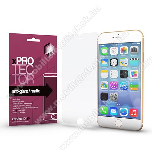 Xpro képernyővédő fólia - Anti-Glare - MATT! - 1db, törlőkendővel, A képernyő sík részét védi! - APPLE iPhone SE (2020) / APPLE iPhone 7 / APPLE iPhone 8 / APPLE iPhone 6 / APPLE iPhone 6S - GYÁRI
