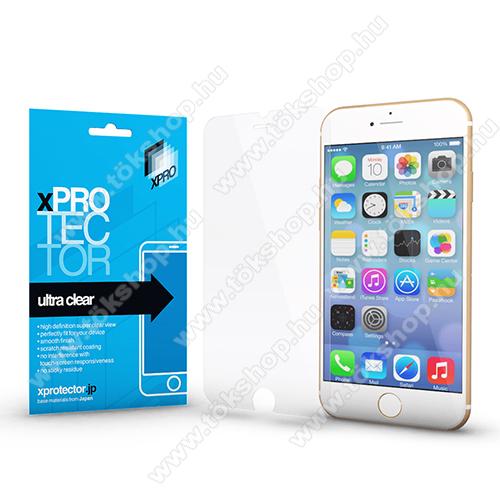 Xpro képernyővédő fólia - Clear - 1db, törlőkendővel - APPLE iPhone SE (2020) / APPLE iPhone 7 / APPLE iPhone 8 / APPLE iPhone 6 / APPLE iPhone 6S - GYÁRI