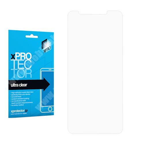 Xpro képernyővédő fólia - Clear - 1db, törlőkendővel - XIAOMI Redmi Note 5 / XIAOMI Redmi 5 Plus - GYÁRI