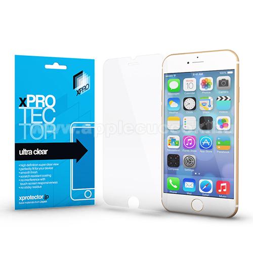 Xpro képernyővédő fólia - Clear - 1db, törlőkendővel, A képernyő sík részét védi! - APPLE iPhone SE (2020) / APPLE iPhone 7 / APPLE iPhone 8 / APPLE iPhone 6 / APPLE iPhone 6S - GYÁRI