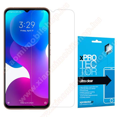 Xpro képernyővédő fólia - Clear - 1db, törlőkendővel, A képernyő sík részét védi! - Xiaomi Mi 10 Lite 5G / Xiaomi Mi 10 Youth 5G / Xiaomi Mi 10 Lite Zoom - GYÁRI