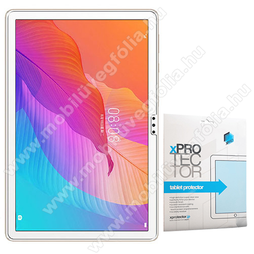 Xpro képernyővédő fólia - Clear - 1db, törlőkendővel, A képernyő sík részét védi! - HUAWEI MatePad T 10s / MatePad T 10 / Honor Pad 6 - GYÁRI