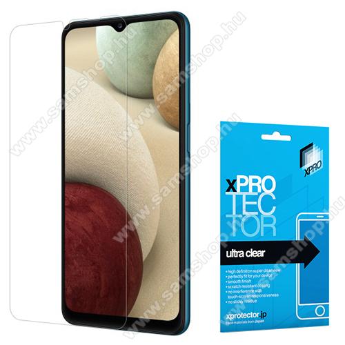 SAMSUNG Galaxy A32 5G (SM-A326B)Xpro képernyővédő fólia - Clear - 1db, törlőkendővel, A képernyő sík részét védi! - SAMSUNG Galaxy A32 5G (SM-A326B) / SAMSUNG Galaxy A12 (SM-A125F) - GYÁRI