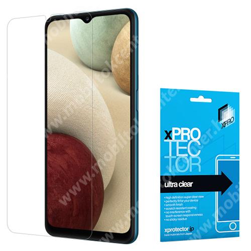 Xpro képernyővédő fólia - Clear - 1db, törlőkendővel, A képernyő sík részét védi! - SAMSUNG Galaxy A32 5G (SM-A326B) / SAMSUNG Galaxy A12 (SM-A125F) - GYÁRI