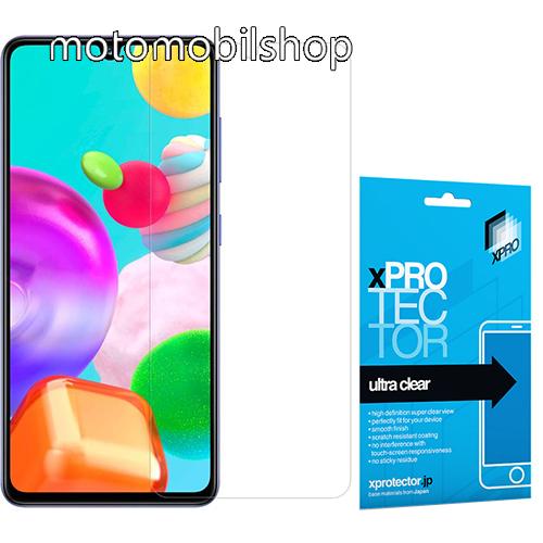 Xpro képernyővédő fólia - Ultra Clear - 1db, A TELJES KÉPERNYŐT VÉDI! - SAMSUNG Galaxy A41 (SM-A415F) - GYÁRI