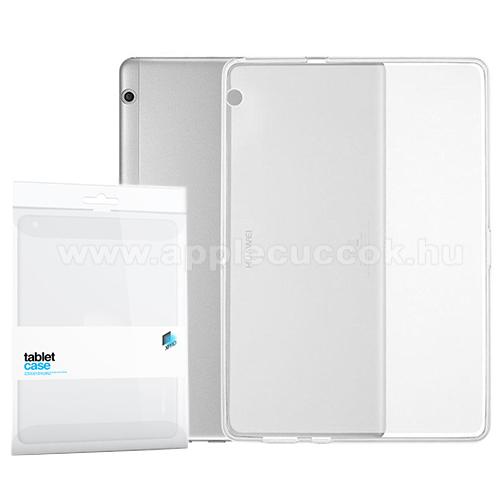 Xpro szilikon védő tok / hátlap - ÁTLÁTSZÓ - HUAWEI MediaPad T3 10 - GYÁRI
