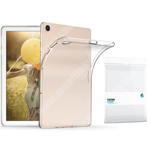 Xpro szilikon védő tok / hátlap - ÁTLÁTSZÓ - HUAWEI MatePad T 10s / MatePad T 10 / Honor Pad 6 - GYÁRI