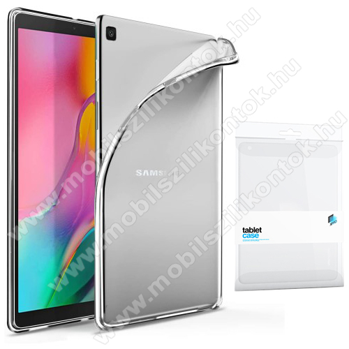 Xpro szilikon védő tok / hátlap - ÁTLÁTSZÓ - SAMSUNG Galaxy Tab A7 10.4 (2020) (SM-T500/SM-T505) - GYÁRI