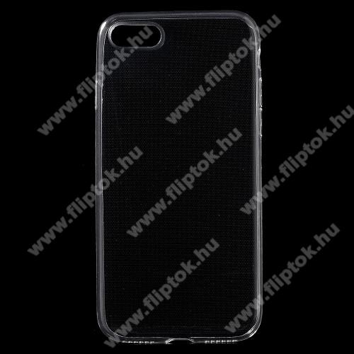 Xpro szilikon védő tok / hátlap - ÁTLÁTSZÓ - ULTRAVÉKONY! 0,6mm - APPLE iPhone 7 (4.7) / APPLE iPhone 8 (4.7) - GYÁRI