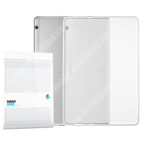 Xpro szilikon védő tok / hátlap - FLEXI - ÁTTETSZŐ - HUAWEI MediaPad T3 10 - GYÁRI