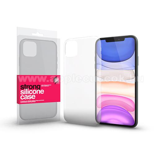 Xpro szilikon védő tok / hátlap - STRONG 2mm - ÁTLÁTSZÓ - APPLE iPhone 11 Pro Max - GYÁRI