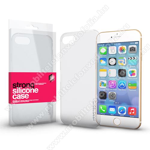 Xpro szilikon védő tok / hátlap - STRONG 2mm - ÁTLÁTSZÓ - APPLE iPhone SE (2020) / APPLE iPhone 7 / APPLE iPhone 8 - GYÁRI