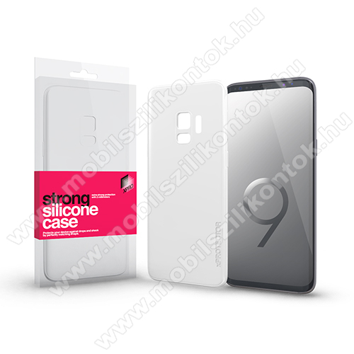 Xpro szilikon védő tok / hátlap - STRONG 2mm - ÁTLÁTSZÓ - SAMSUNG SM-G960 Galaxy S9 - GYÁRI