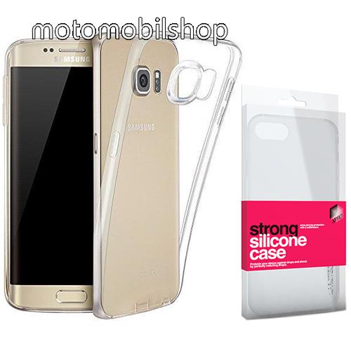 Xpro szilikon védő tok / hátlap - STRONG 2mm - ÁTLÁTSZÓ - SAMSUNG SM-G935 Galaxy S7 Edge - GYÁRI