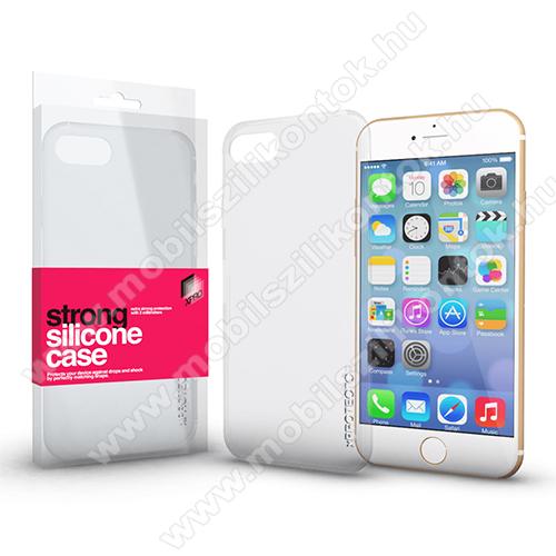 Xpro szilikon védő tok / hátlap - STRONG 2mm - ÁTLÁTSZÓ - APPLE iPhone 6 Plus / APPLE iPhone 6S Plus - GYÁRI - GYÁRI