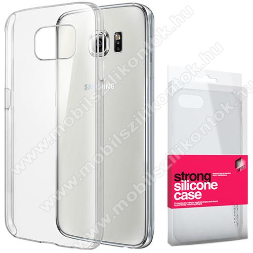 Xpro szilikon védő tok / hátlap - STRONG 2mm - ÁTLÁTSZÓ - SAMSUNG SM-G920 Galaxy S6 - GYÁRI