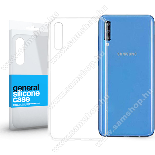 SAMSUNG Galaxy A70 (SM-A705F/SM-A705FN)Xpro szilikon védő tok / hátlap - ULTRAVÉKONY! 0.33mm - ÁTLÁTSZÓ - SAMSUNG SM-A705F Galaxy A70 - GYÁRI