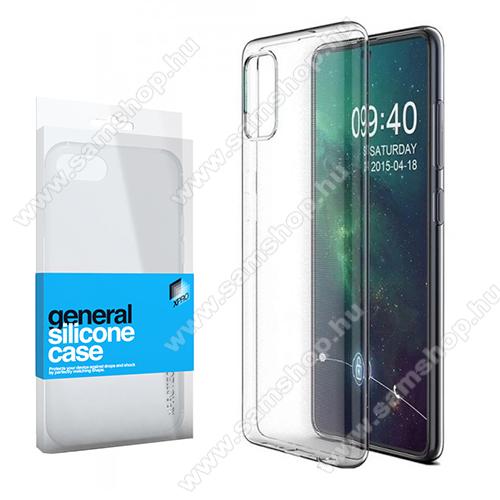 SAMSUNG Galaxy A51 (SM-A515F)Xpro szilikon védő tok / hátlap - ULTRAVÉKONY! 0.33mm - ÁTLÁTSZÓ - SAMSUNG Galaxy A51 (SM-A515F) - GYÁRI
