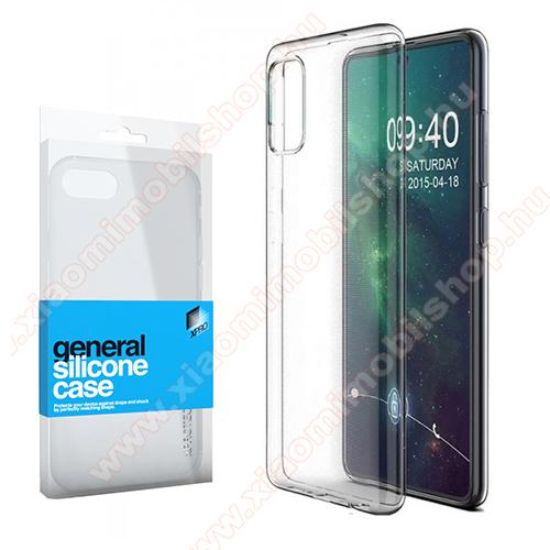 Xpro szilikon védő tok / hátlap - ULTRAVÉKONY! 0.33mm - ÁTLÁTSZÓ - SAMSUNG Galaxy A51 (SM-A515F) - GYÁRI