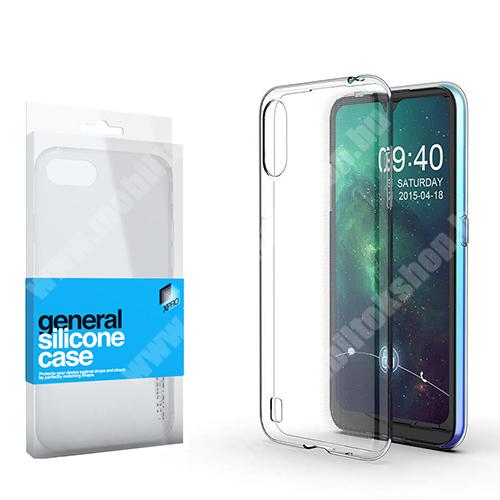 Xpro szilikon védő tok / hátlap - ULTRAVÉKONY! 0.33mm - ÁTLÁTSZÓ - SAMSUNG Galaxy A01 (SM-A015F) - GYÁRI