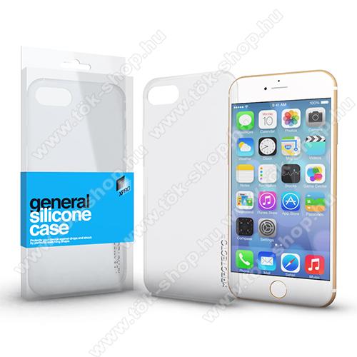 Xpro szilikon védő tok / hátlap - ULTRAVÉKONY! 0.33mm - ÁTLÁTSZÓ - APPLE iPhone 6 / APPLE iPhone 6s - GYÁRI