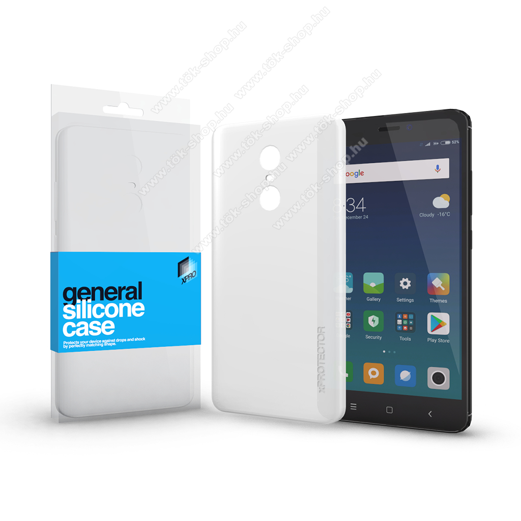 Xpro szilikon védő tok / hátlap - ULTRAVÉKONY! 0.33mm - ÁTLÁTSZÓ - Xiaomi Redmi Note 4 / Xiaomi Redmi Note 4X (Global version) - GYÁRI