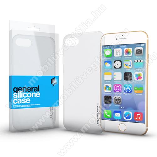 Xpro szilikon védő tok / hátlap - ULTRAVÉKONY! 0.33mm - ÁTLÁTSZÓ - APPLE iPhone 7 Plus (5.5) / APPLE iPhone 8 Plus (5.5) - GYÁRI