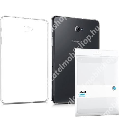 Xpro szilikon védő tok / hátlap - ULTRAVÉKONY! 0.33mm - ÁTLÁTSZÓ - SAMSUNG SM-T580 Galaxy Tab A 10.1 (2016) / SAMSUNG SM-T585 Galaxy Tab A 10.1 (2016) - GYÁRI