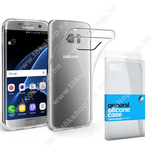 Xpro szilikon védő tok / hátlap - ULTRAVÉKONY! 0.33mm - ÁTLÁTSZÓ - SAMSUNG SM-G935 Galaxy S7 Edge - GYÁRI