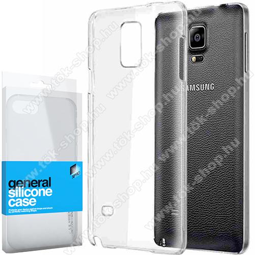 Xpro szilikon védő tok / hátlap - ULTRAVÉKONY! 0.33mm - ÁTLÁTSZÓ - SAMSUNG SM-N910C Galaxy Note4 - GYÁRI
